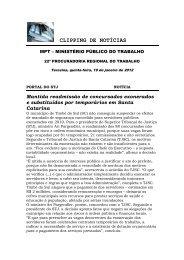 CLIPPING DE NOTÍCIAS - Palha Dias Advocacia & Cobranças