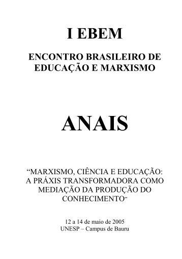 aNAIS - Faculdade de Ciências - Unesp