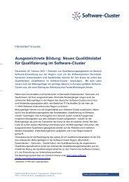 Ausgezeichnete Bildung: Neues Qualitätslabel für Qualifizierung im ...