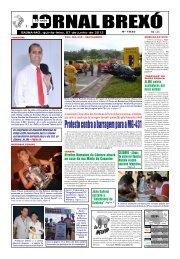 Protesto contra a barragem para a MG-431 - Jornal Brexó
