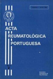 1986 Volume XI, 2, 2º Trimestre - Acta Reumatológica Portuguesa ...