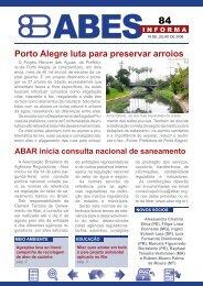 Porto Alegre luta para preservar arroios - Abes
