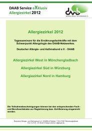 Allergiezirkel Süd - Deutscher Allergie