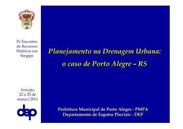 Planejamento na drenagem urbana