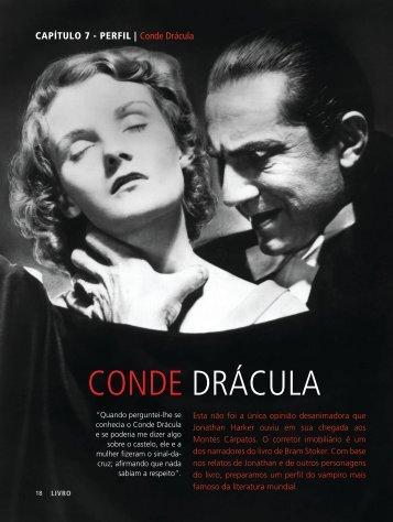 CAPÍTULO 7 - PERFIL | Conde Drácula - revista livro!