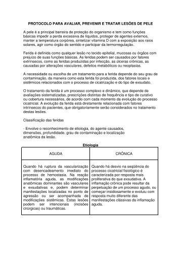 PROTOCOLO PARA AVALIAR, PREVENIR E TRATAR ... - ineti