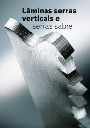 Lâminas serras verticais e serras sabre - Ferramentas eléctricas ...