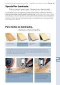 Lâminas serras verticais e serras sabre - Ferramentas eléctricas ... - Page 5