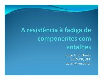 Jorge A. R. Durán EEIMVR/UFF duran@vm.uff.br - Professores da UFF