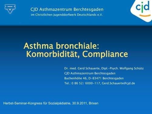 Vortrag: Asthma bronchiale - Deutsche Akademie für ...