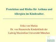Protektion Und Risiko Für Asthma Und Allergien Im