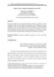 Aluísio Azevedo e a imprensa maranhense do século XIX ... - Intercom