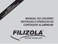 Manual Cortador Aluminium - Filizola