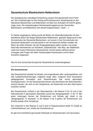 Gesamtschule Blankenheim-Nettersheim - Dahlem