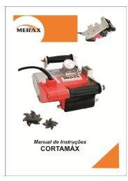 Manual de operação - Merax