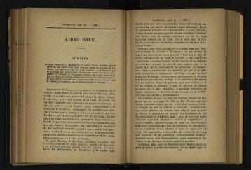 Libro once. Sumario. - cdigital