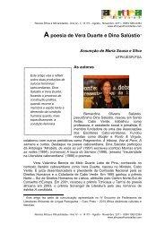A poesia de Vera Duarte e Dina Salústio - Revista África e ...