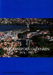 Stoftransport i Gudenåen 1974 til 1993 (PDF) - Gudenåkomiteen