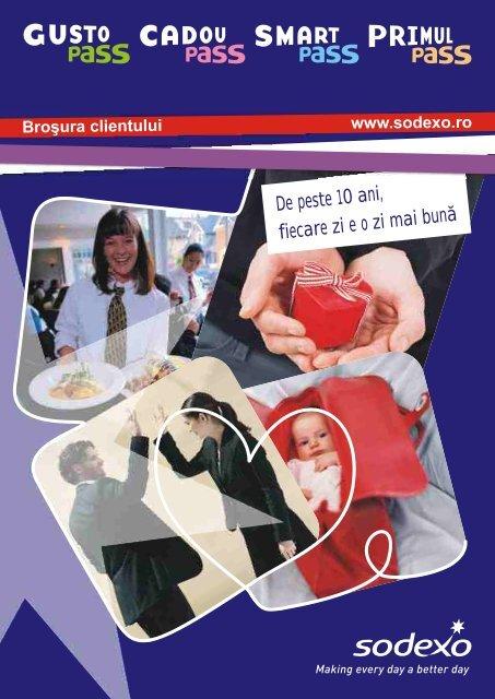 Brosura corporate - Sodexo.