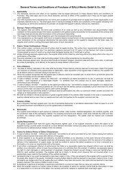 allg Einkaufsbedingungen DW-08 07 10-Englisch - Dalli Group