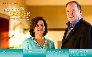 Rotary Leader - Maio de 2012 - Rotary Distrito 4750