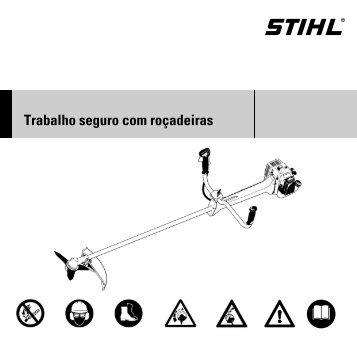 Trabalho seguro com roçadeiras - Stihl