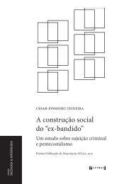 """A construção social do """"ex-bandido"""" - Livraria Martins Fontes"""