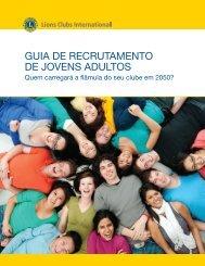 como recrutar jovens adultos - Lions Clubs International