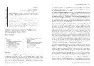 Mikrotypographie-Regeln, Teil I - Dante eV