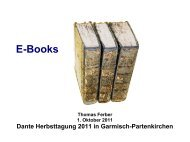 Thomas Ferber: E-Books
