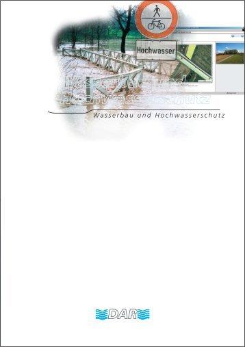Wasserbau und Hochwasserschutz (PDF 3,9MB)