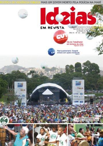 Revista-24 (Abril e Maio-2009) - Sisejufe