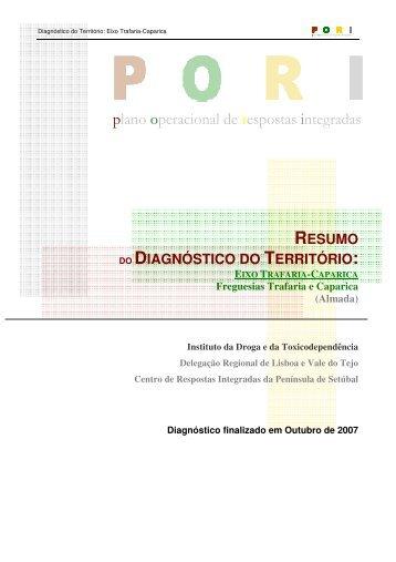 plano operacional de respostas integradas - IDT - Instituto da Droga ...