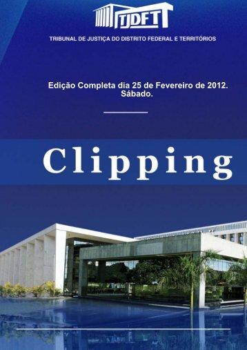Edição Completa dia 25 de Fevereiro de 2012. Sábado.
