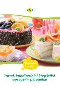 Tortai, konditeriniai krepšeliai - Page 2