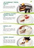 Tortai, konditeriniai krepšeliai - Page 3