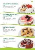 Tortai, konditeriniai krepšeliai - Page 5