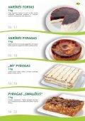 Tortai, konditeriniai krepšeliai - Page 7