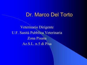 Relazione del Dott. Marco Del Torto