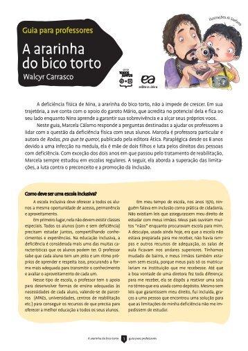 A ararinha do bico torto - Editora Ática