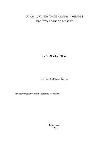 endomarketing - AVM Faculdade Integrada