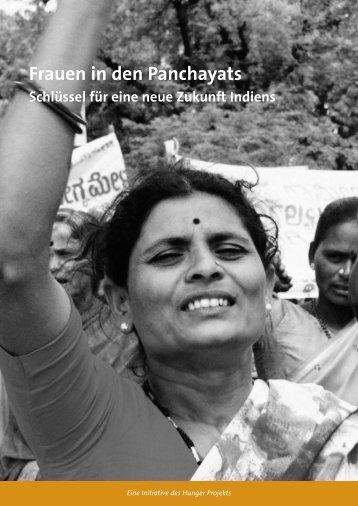 Frauen in den Panchayats - Das Hunger Projekt