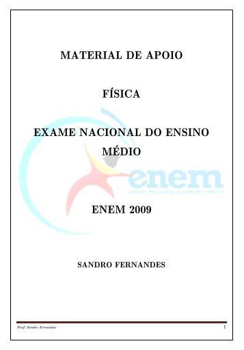 material de apoio física exame nacional do ensino médio ... - Pion