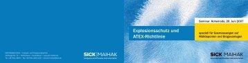 Explosionsschutz und ATEX-Richtlinie - IB GmbH
