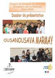 Dossier descriptif du projet - Académie de la Réunion