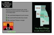 The Best Things in Life Aren't Free - Metro Joe