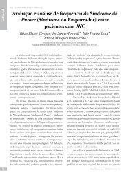 (Síndrome do Empurrador) entre pacientes com AVC - Revista ...