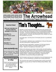 TLP Newsletter,Oct 11 - Wyman