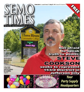 STEVE COOKSON - SEMO TIMES