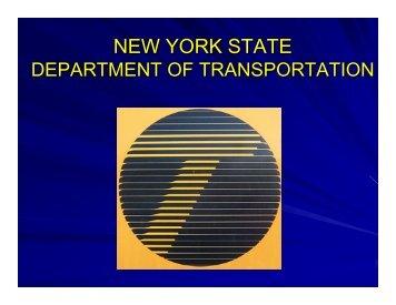 NEW YORK STATE - Cornell Local Roads Program